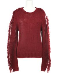 Rodarte x Opening Ceremony | Cotton Knit Fringe Pullover | Lyst