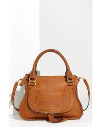 Chloé 'Marcie - Small' Leather Satchel - Lyst