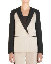 3.1 Phillip Lim Tuxedo Combo Jacket beige - Lyst