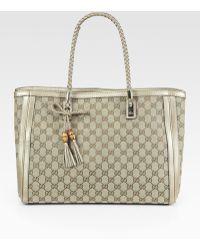 Gucci Bella Medium Tote Bag - Lyst