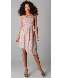 The Addison Story - Lurex Dress - Lyst