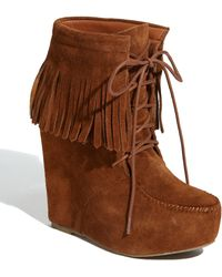 Steve Madden Armoryy Moc Bootie - Lyst