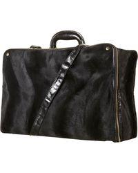 TOPSHOP - Velvet Suitcase - Lyst