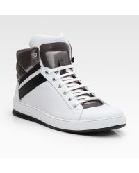 Dior Homme High-top Sneakers white - Lyst