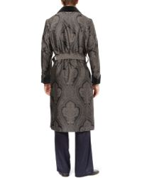 Turnbull & Asser - Woven Paisley Dressing Gown - Lyst