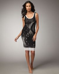 Jean Paul Gaultier Lace Tank Dress Cover-up - Lyst