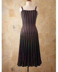Free People Vintage Missoni Stripe Dress - Lyst