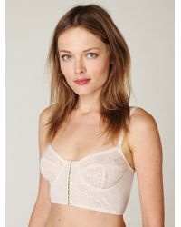 Free People Secret Garden Lace Bra - Lyst
