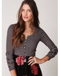 Free People Contempo Cardi - Lyst