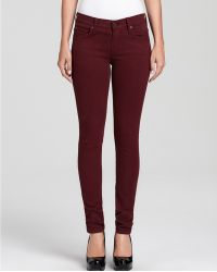 Ash - James Jeans Twiggy Brushed Twill Jeans in Sienna Wash - Lyst