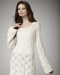 Autumn Cashmere Colorblock Cashmere Dress - Lyst