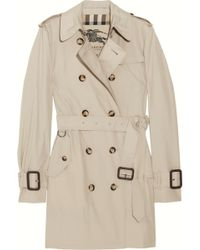 Burberry Brit Marystow Coat Trench - Lyst