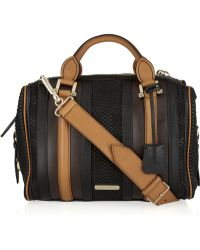 Burberry Prorsum - Nevinson Leather Bowling Bag - Lyst