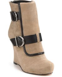 House Of Harlow 1960 Arissa Wedge Booties - Lyst