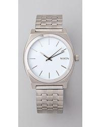 Nixon Oversized Time Teller Watch - Lyst
