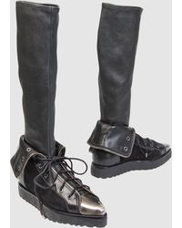 Alexander Wang Combat Boots - Lyst