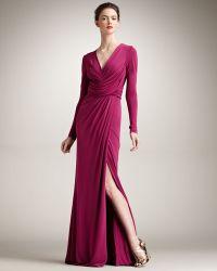 Eastland Long-sleeve Jersey Gown - Lyst