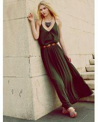Free People Complete Pleats Maxi Dress - Lyst