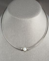 Mikimoto Pearl Morning Dew Necklace - Lyst