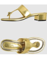 Marc By Marc Jacobs Low Heeled Sandals - Lyst