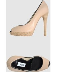 Moschino Pumps with Open Toe - Lyst
