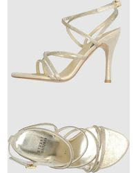 Stuart Weitzman High Heeled Sandals - Lyst
