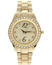 Oasis - Gold Plated Bracelet Watch - Lyst