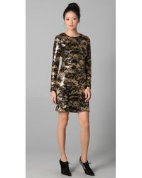 Adam Sequin Dress - Lyst