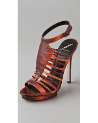 B Brian Atwood - Calistta High Heel Sandals - Lyst