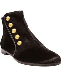 House of Harlow 1960 - Bailey Velvet Boot - Lyst