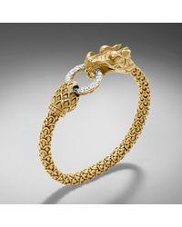 John Hardy Dragon Bracelet - Lyst