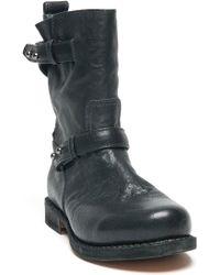 Rag & Bone Classic Moto Leather Booties  - Lyst