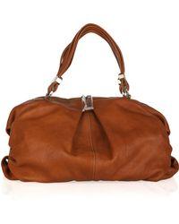 Christian Louboutin Topaz Large Cervo Textured Leather Hobo Bag - Lyst