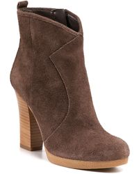 Enzo Angiolini Alessi Western Booties - Lyst