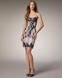 Mandalay - Strapless Line-bead Dress - Lyst