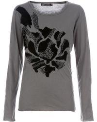 Peachoo + Krejberg Embroidered T-shirt - Lyst