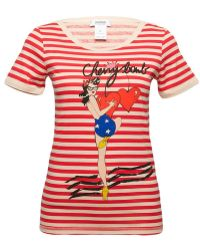 Sonia By Sonia Rykiel Cherry Bomb Striped T-shirt - Lyst