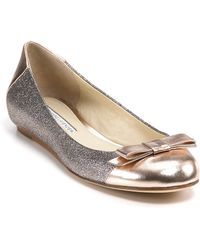 Vera Wang Lavender Flats - Louisa Sparkle Ballet - Lyst