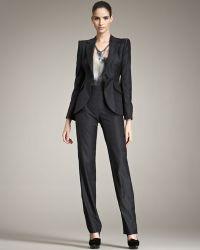 Giorgio Armani - Tonal-check Suit - Lyst