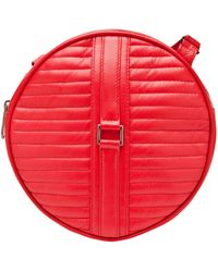 Reece Hudson - Round Leather Bag - Lyst