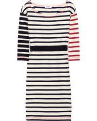 Sonia by Sonia Rykiel Striped Cotton-jersey Dress - Lyst