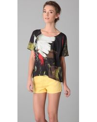 Sass & Bide Forever Hand in Hand Print Tee - Lyst