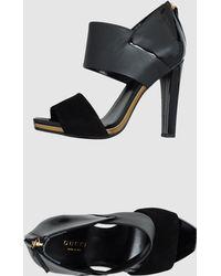 Gucci  Platform Sandals - Lyst
