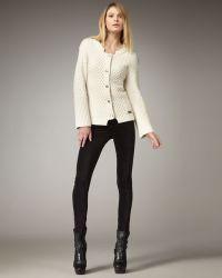 Burberry Brit - Skinny Velvet Pants - Lyst