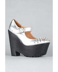 Jeffrey Campbell The Gil Studded Shoe  - Lyst