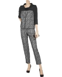 Valentino Roma - Lace Pant Suit - Lyst