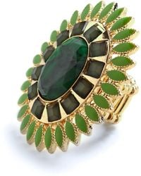 ModCloth Terra Verde Ring - Lyst
