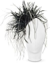 Nana' Alicia - Black Feather Headdress - Lyst