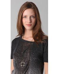 Rachel Leigh - Society Pendant Necklace - Lyst