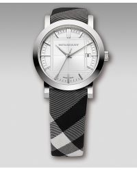 Burberry Watches Check-strap Watch - Lyst